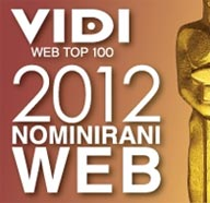 Nomininacija za VIDI WEB TOP 100