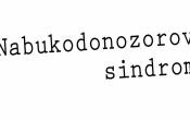 Nabukodonozorov sindrom